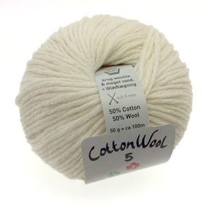 Gepard CottonWool 5 - 101 Råhvid