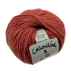 Gepard Cottonwool 5 - 355 Støvet vinrød