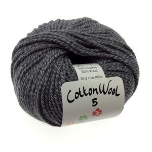 Gepard Cottonwool 5 - 520 Antracitgrå
