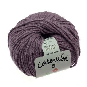 Gepard Cottonwool 5 - 618 Støvet Lilla