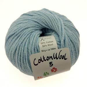 Gepard Cottonwool 5 712 Lys aquablå