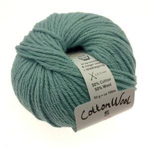 Gepard Cottonwool 5 - 726 Lys petrolgrå