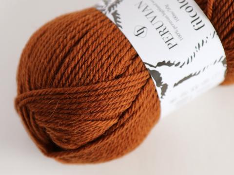 Filcolana Peruvian Highland Wool 352 Red squirrel