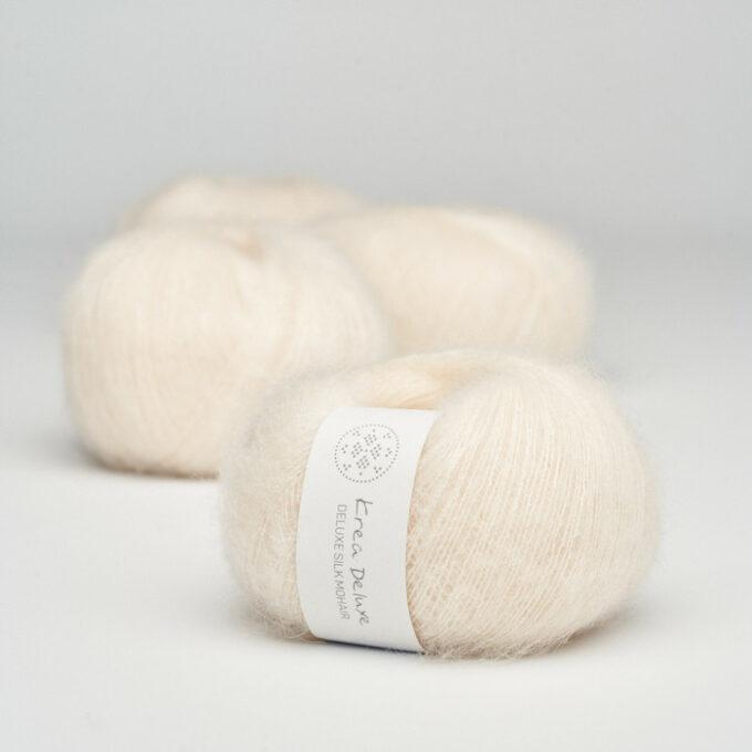 Krea Deluxe Silk Mohair 02 Creme