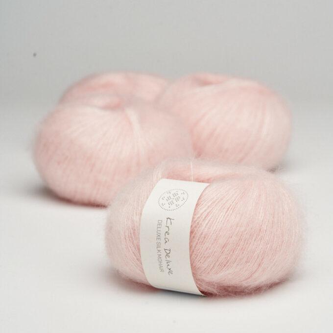 Krea Deluxe Silk Mohair 11 Lyserød