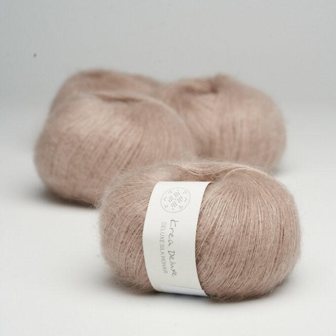Krea Deluxe Silk Mohair 14 Lys støvet rosa