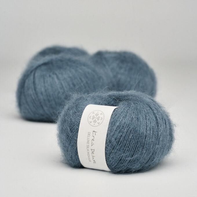 Krea Deluxe Silk Mohair 26 Mørkeblå