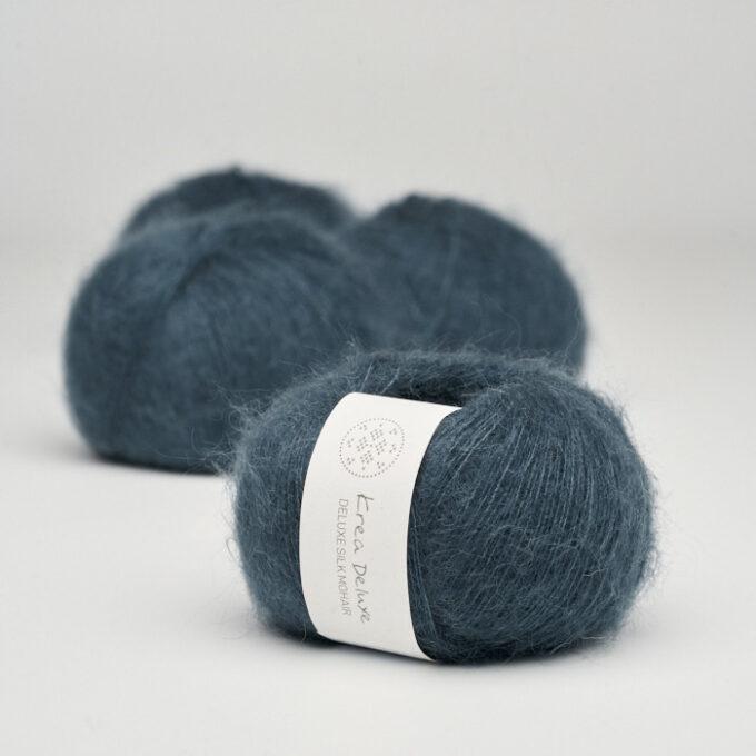 Krea Deluxe Silk Mohair 27 Marineblå