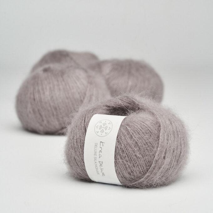 Krea Deluxe Silk Mohair 44 Støvet lavendel