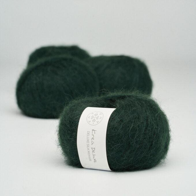 Krea Deluxe Silk Mohair 45 Flaskegrøn