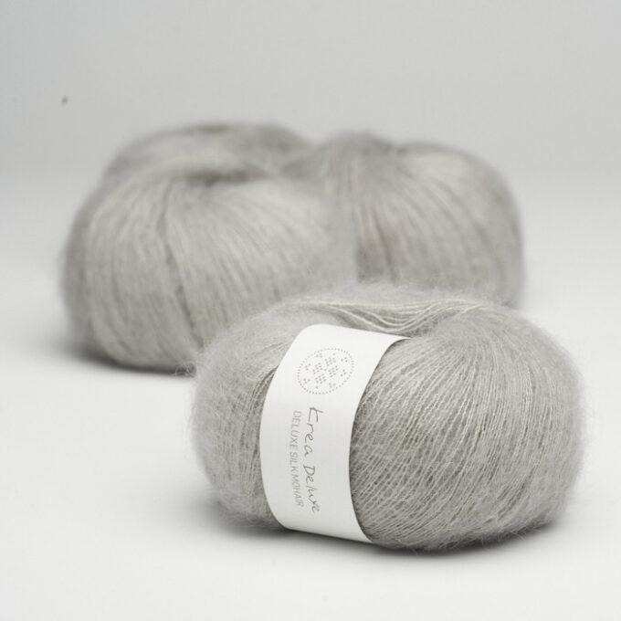 Krea Deluxe Silk Mohair 51 Lys Grå