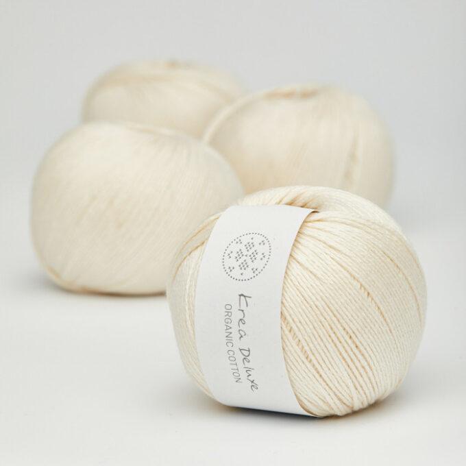 Krea Deluxe Organic Cotton 02 creme
