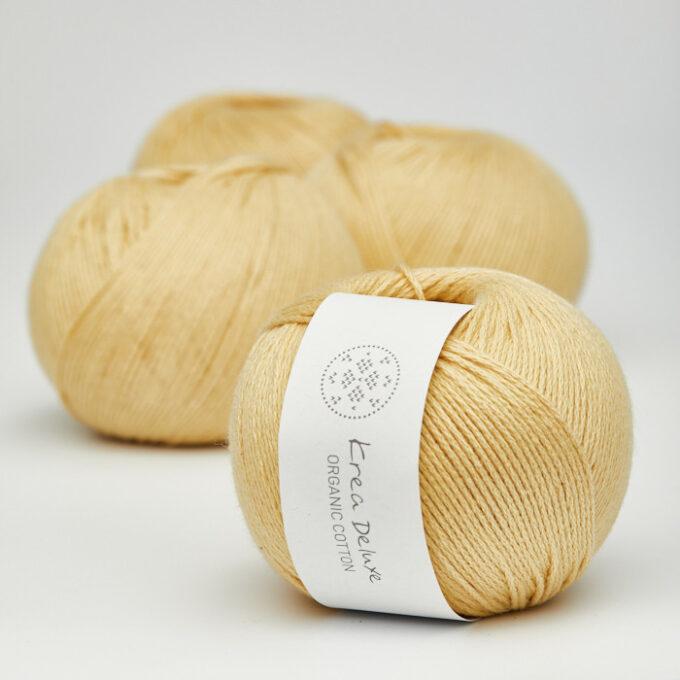 Krea Deluxe Organic Cotton 05 gul