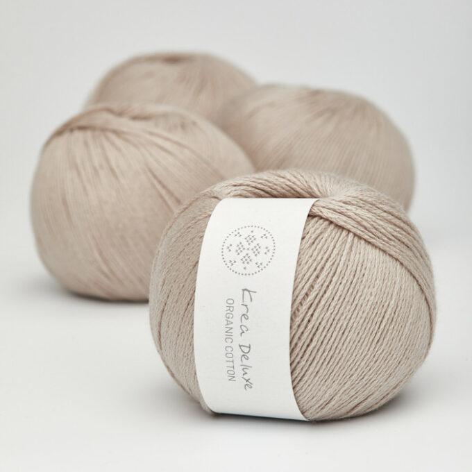 Krea Deluxe Orgabnic Cotton 18 sart brun