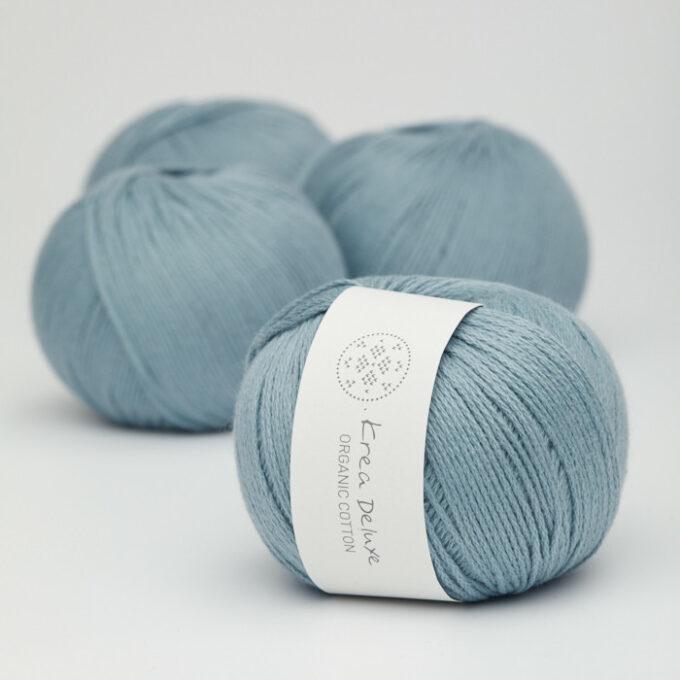 Krea Deluxe Organic Cotton 23 blå