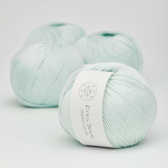 Krea Deluxe Organic Cotton 24 lys isblå