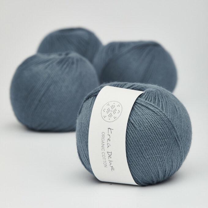 Krea Deluxe Organic Cotton 26 mørk blå