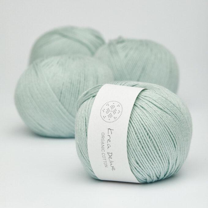 Krea Deluxe Organic Cotton 32 mintgrøn