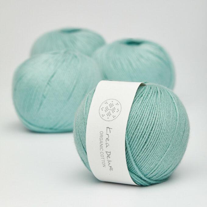 Krea Deluxe Organic Cotton 33 mørk mintgrøn