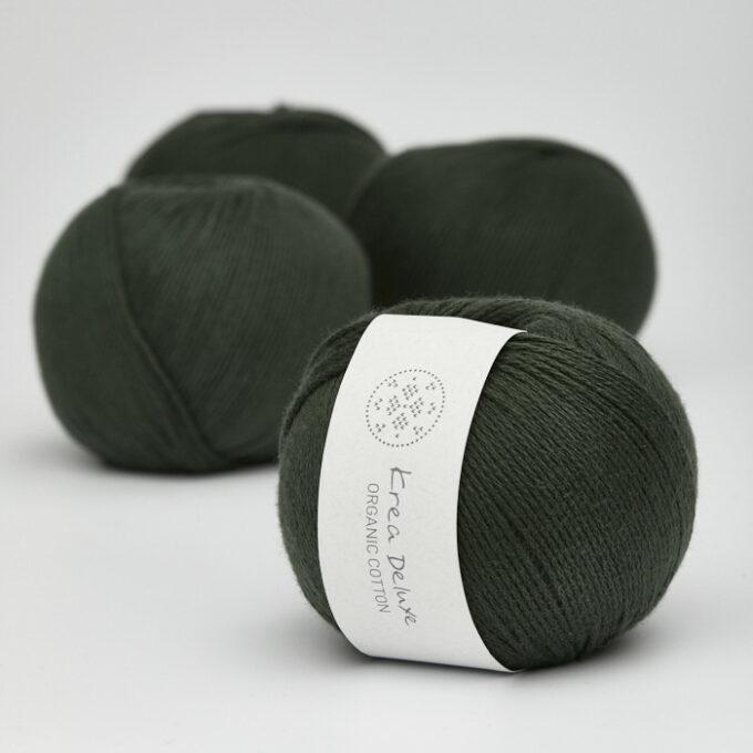 Krea Deluxe Organic Cotton 36 army grøn