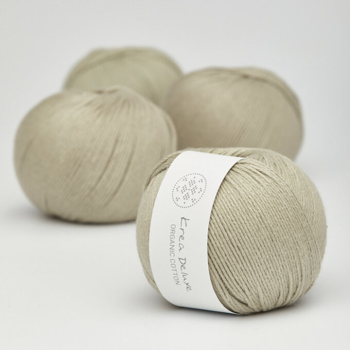 Krea Deluxe Organic Cotton 39 khaki
