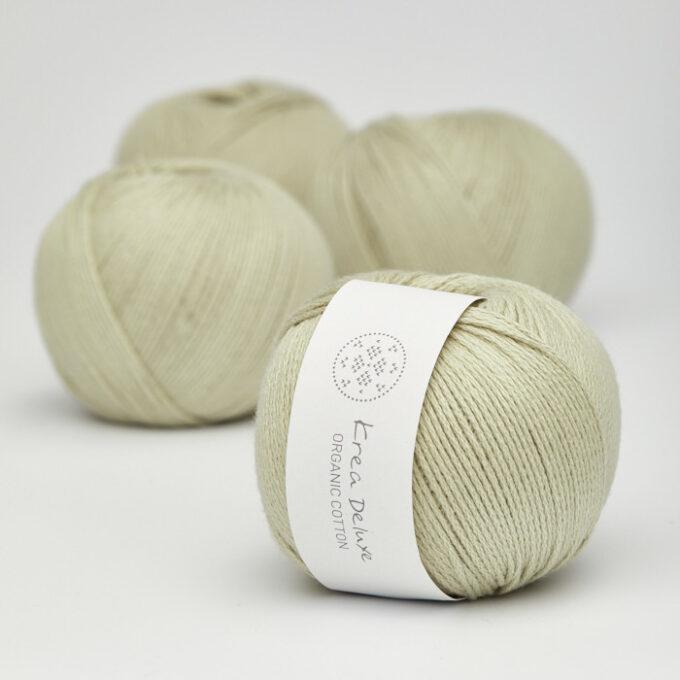 Krea Deluxe Organic Cotton 40 lys grøn