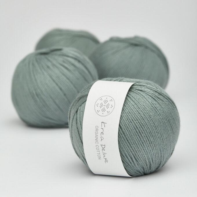 Krea Deluxe Organic Cotton 41 støvet grøn