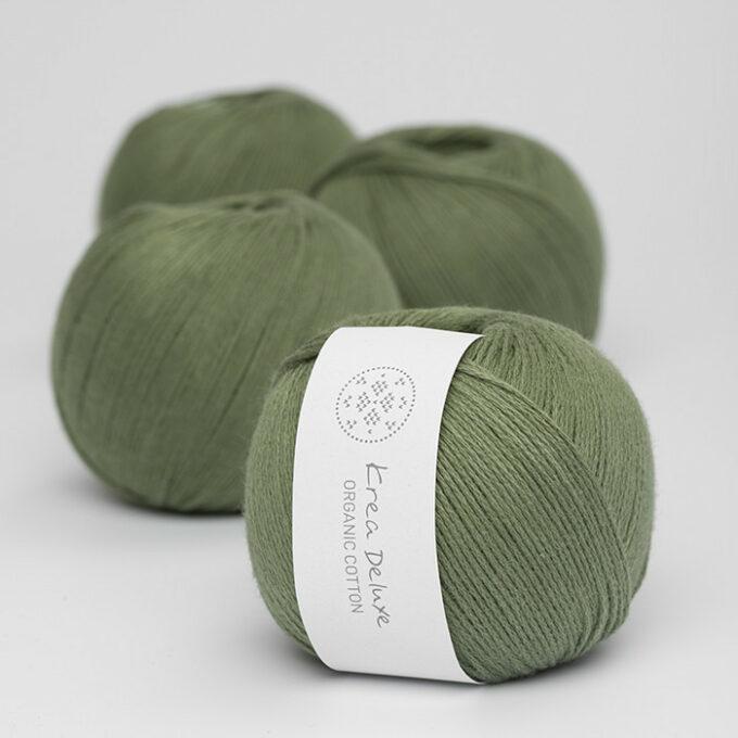 Krea Deluxe Organic Cotton 42 mosgrøn