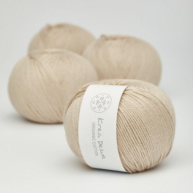 Krea Deluxe Organic Cotton 46 hør farve