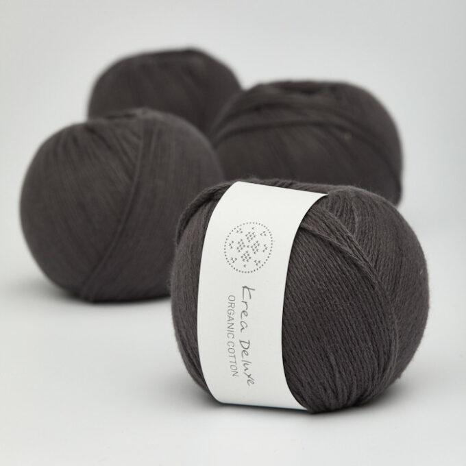 Krea Deluxe Organic Cotton 51 koksgrå