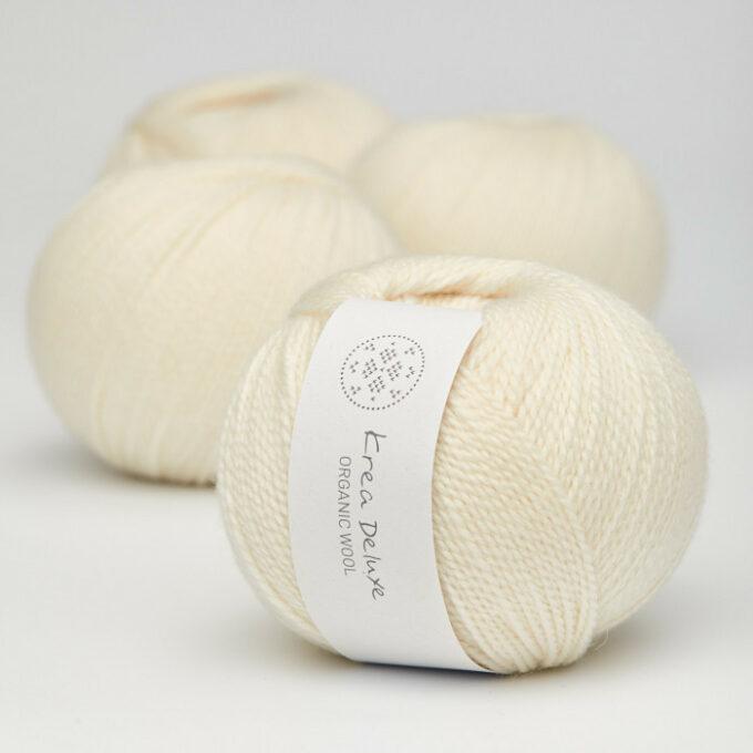 Krea Deluxe Organic Wool 1 02 Creme