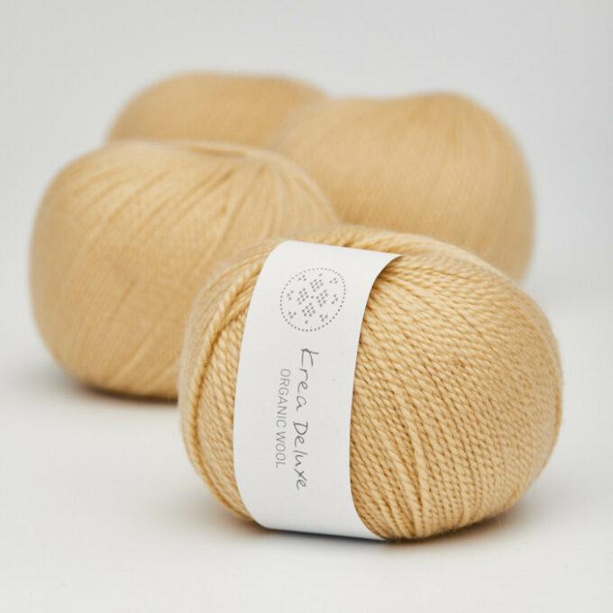 Krea Deluxe Organic Wool 05 Gul