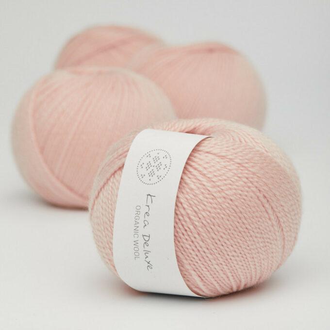 Krea Deluxe Organic Wool 1 08 Lys rosa
