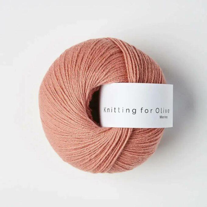 Knitting for Olive Merino Flamingo