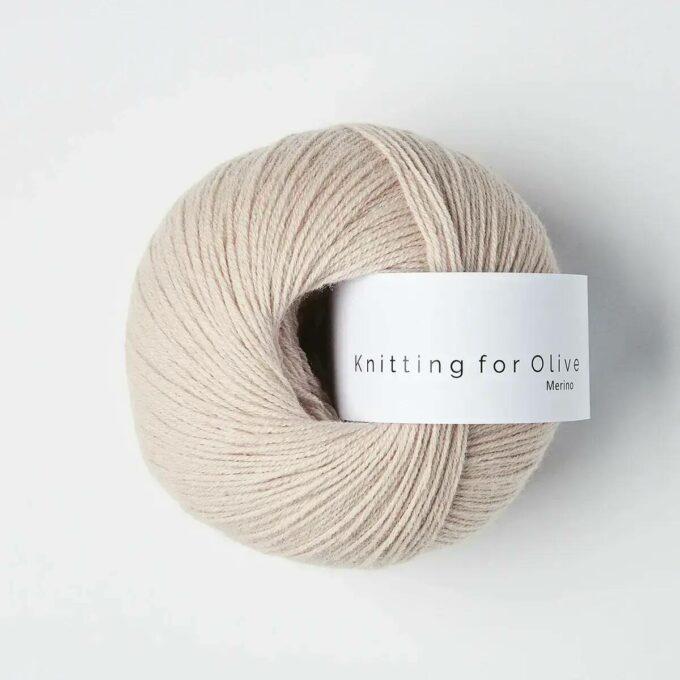 Knitting for Olive Merino Pudderrosa