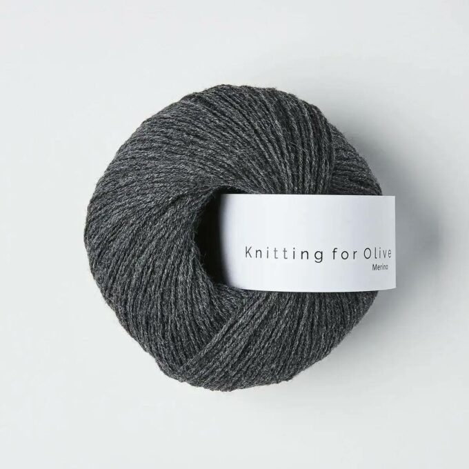 Knitting for Olive Merino Skifergrå