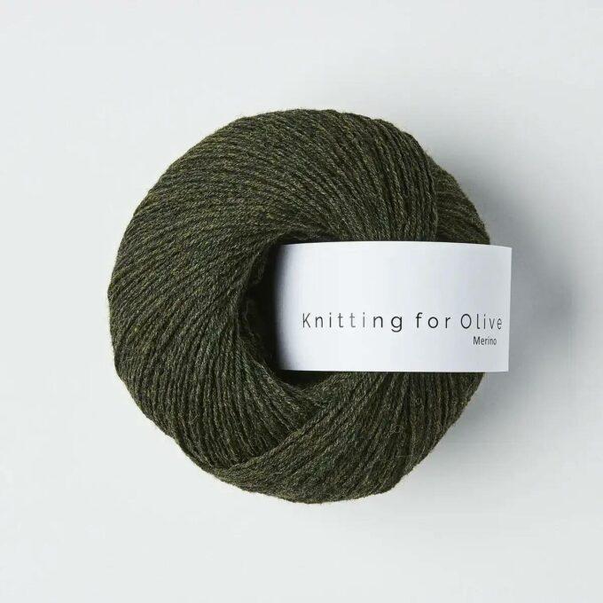 Knitting for Olive Merino Skifergrøn