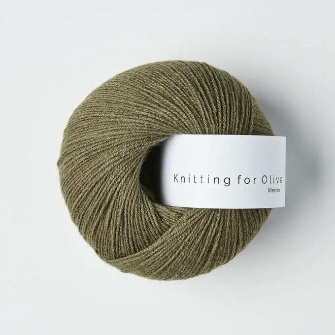 Knitting for Olive Merino Støvet Oliven