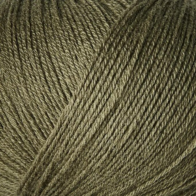 Knitting for Olive Merino Støvet Oliven 2