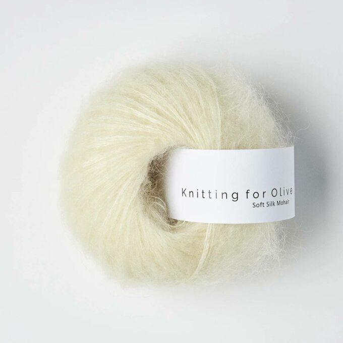Knitting for Olive Soft Silk Mohair - Råhvid