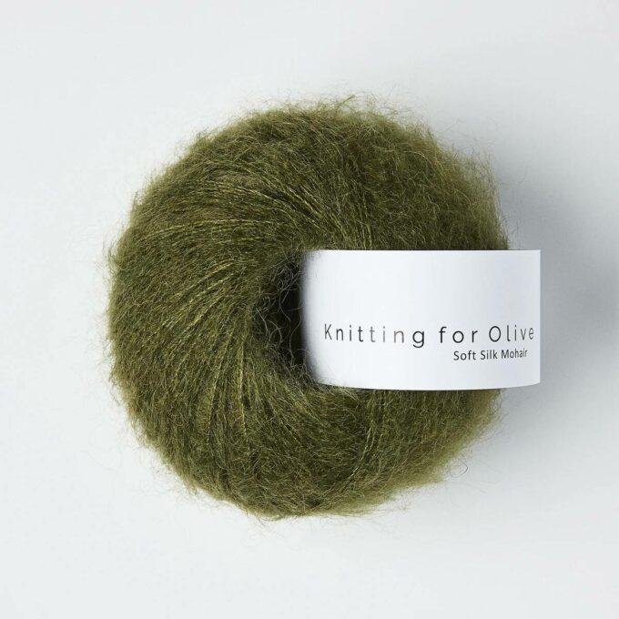 Knitting for Olive Soft Silk Mohair - Skifergrøn
