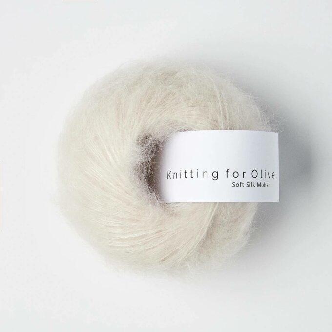 Knitting for Olive Soft Silk Mohair - Sky