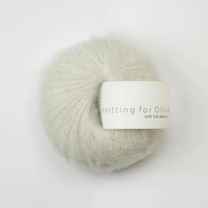 Knitting for Olive Soft Silk Mohair Fløde