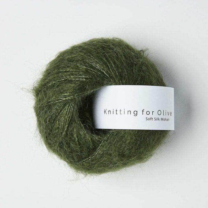 Knitting for Olive - Soft Silk Mohair Flaskegrøn