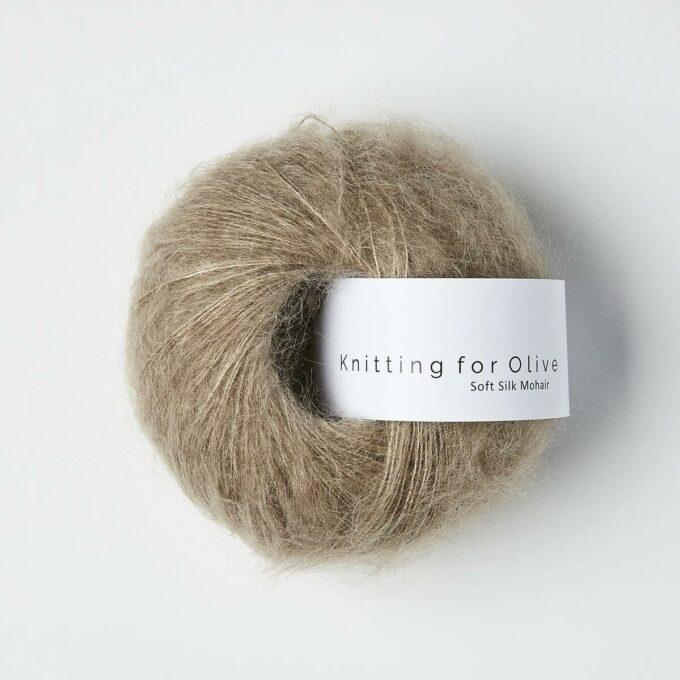 Knitting for Olive Soft Silk Mohair Hør