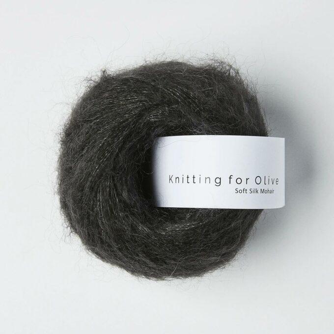 Knitting for Olive Soft Silk Mohair Midnat